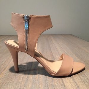 Nude High Heels by Jessica Simpson